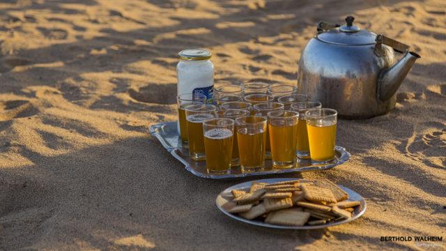 Das Lebenselixier der Wüste: Tee