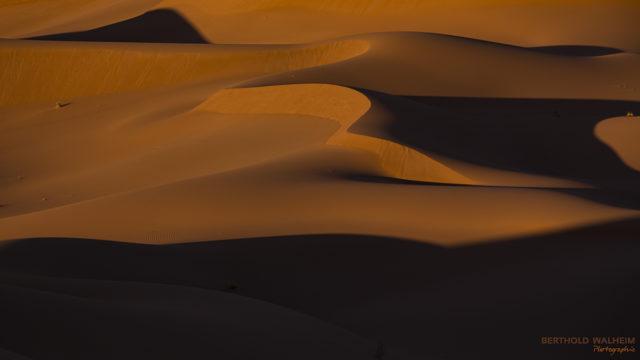 Dünen von Chegaga im Morgenlicht; Marokko