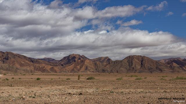 Gebirgszüge des Anti Atlas; Marokko