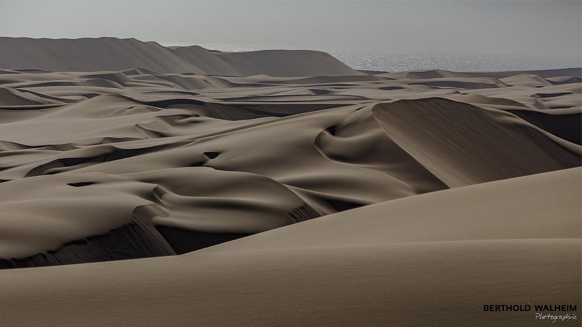 Dünenlandschaft bei Swakopmund; Namibia