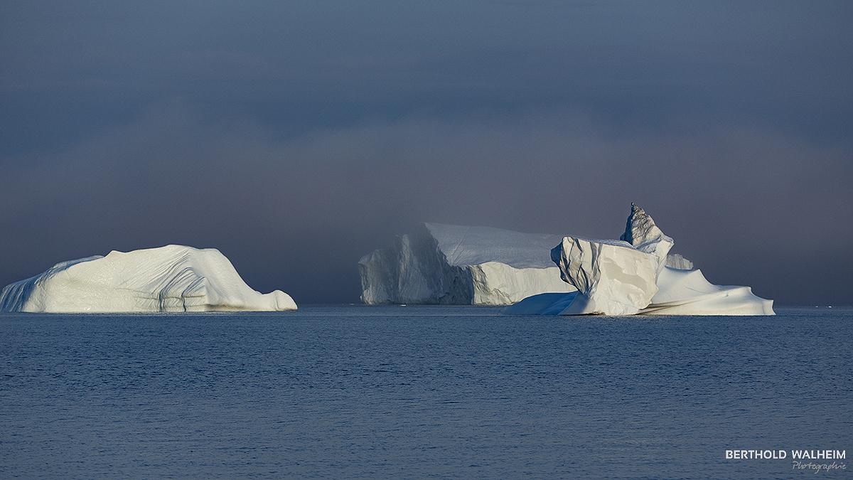 Eisberge in der Diskobucht; Grönland