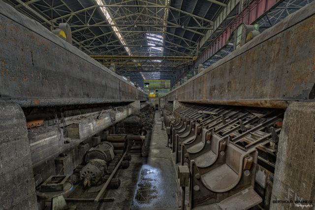 Im verlassenen Stahlwerk