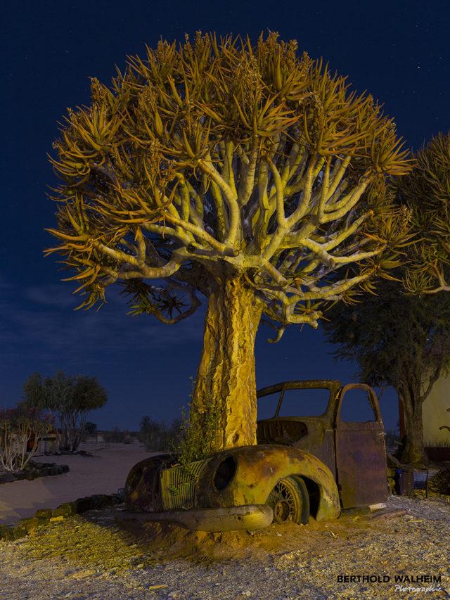 Motorschaden in Namibia