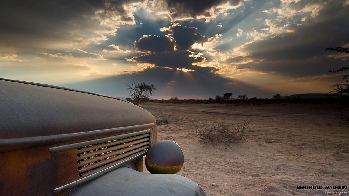 Am Canon Roadhouse; Namibia