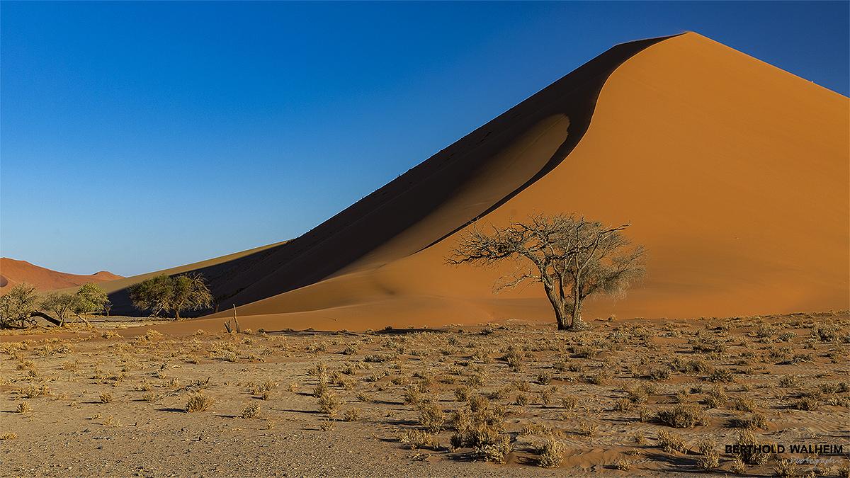 Düne im Sossusvlei; Namibia
