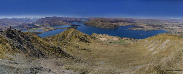 Neuseeland; Blick vom Roy`s Peak auf Lake Wanaka