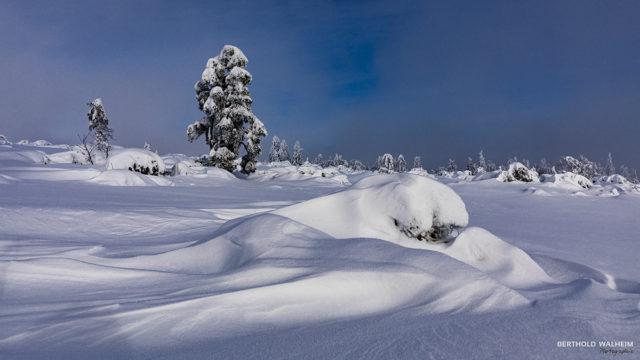 Von Wind und Schnee geformt