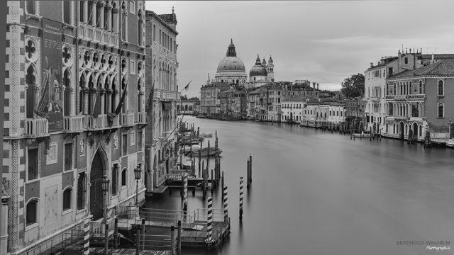 Venedig;Blick über den Canal Grande zur Basilika Santa Maria della Salute