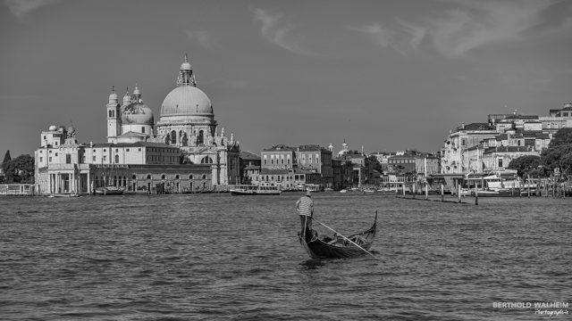 Venedig; Der einsame Gondeliere