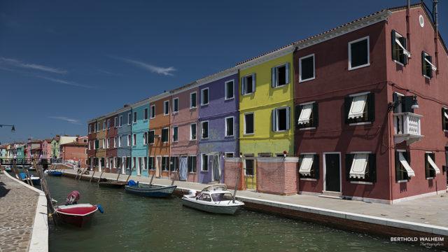 Venedig; Die bunten Häuser von Burano