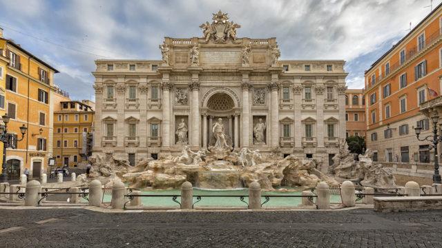 Rom; Trevi Brunnen