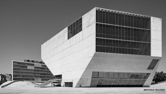 Portugal; Porto: Casa da Música - Konzertsaal