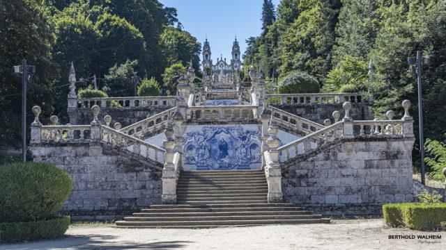 Portugal; Lamego: Santuario de Nossa Senhora dos Remédios