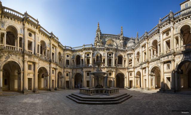 Portugal; Tomar: Convento de Cristo