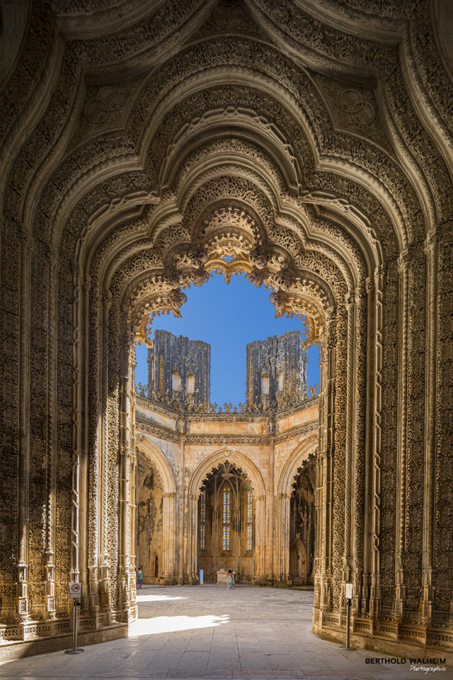 Portugal; Pforte in der Mosteiro da Batalha