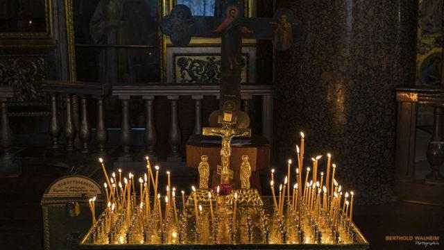 Opfertisch in der Kasaner Kathedrale