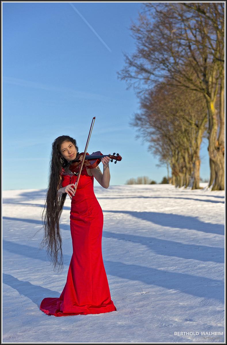 Red Violinist