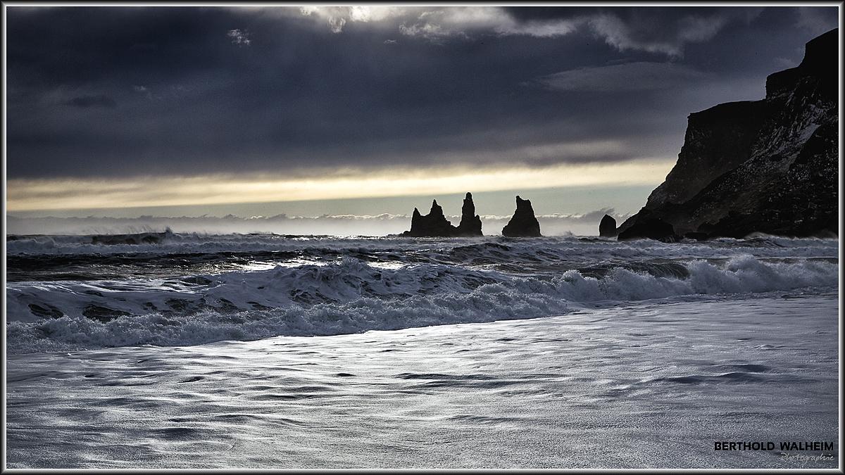 Reynisdrangar, Island