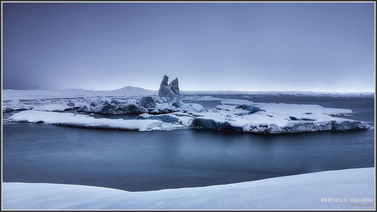 Jökulsárlón, Island