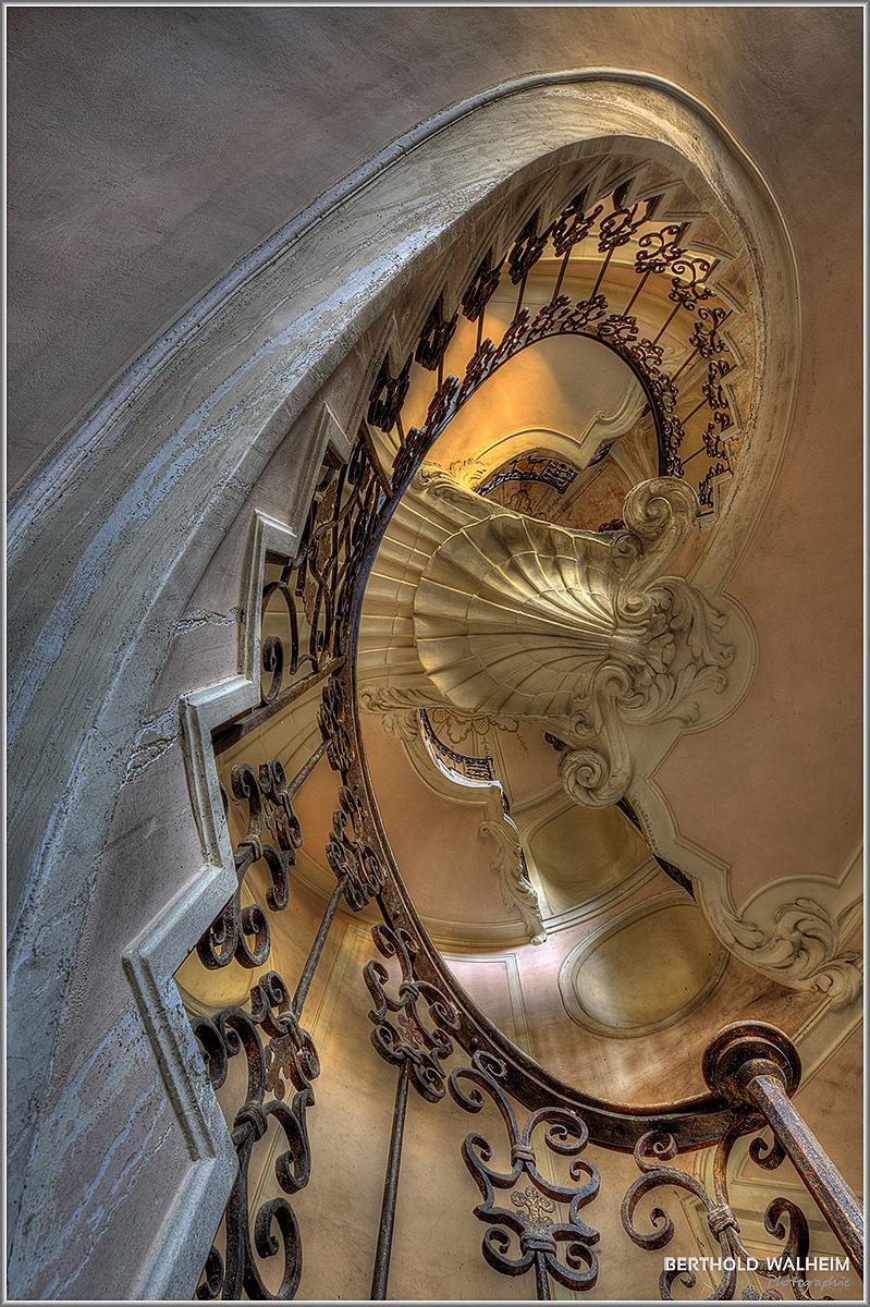 Treppenhaus Villa carpeneto aka Palazzo L