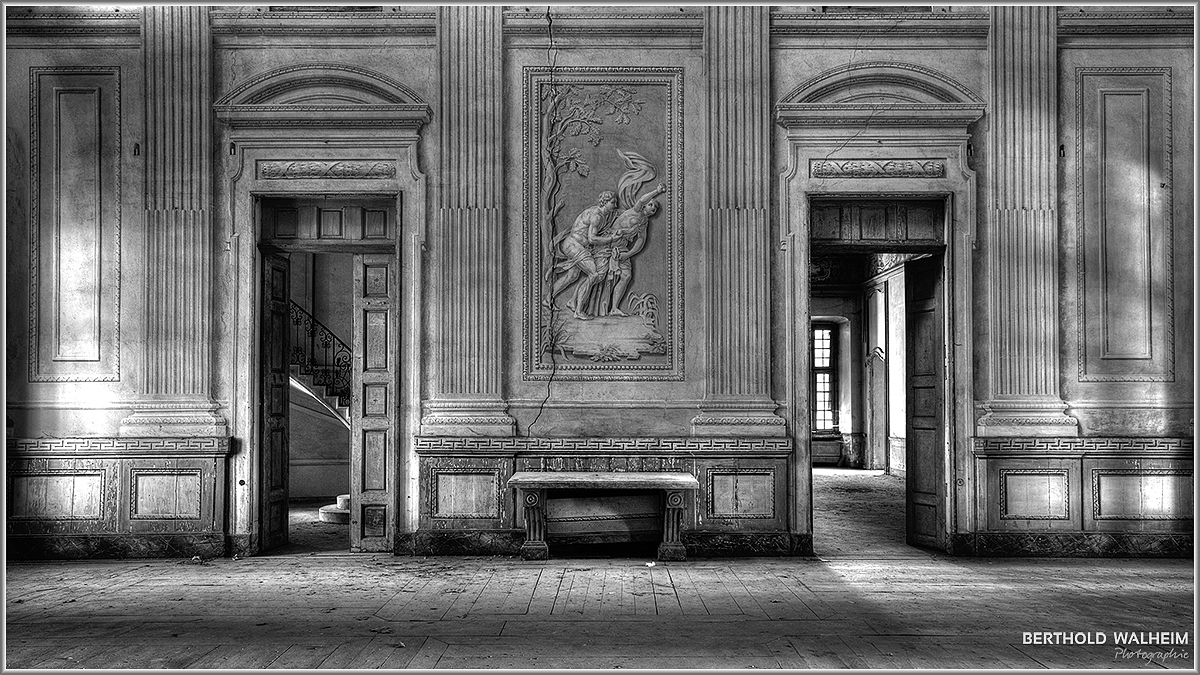Eingangshalle Villa carpeneto aka Palazzo L