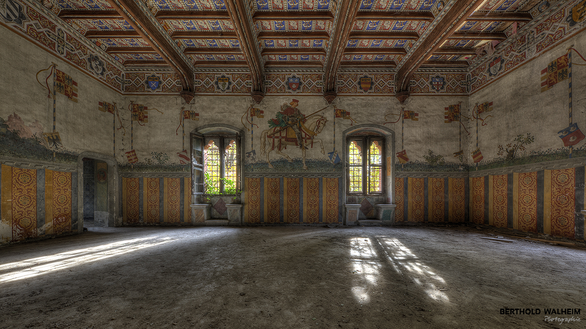 Castillo di R – der Rittersaal