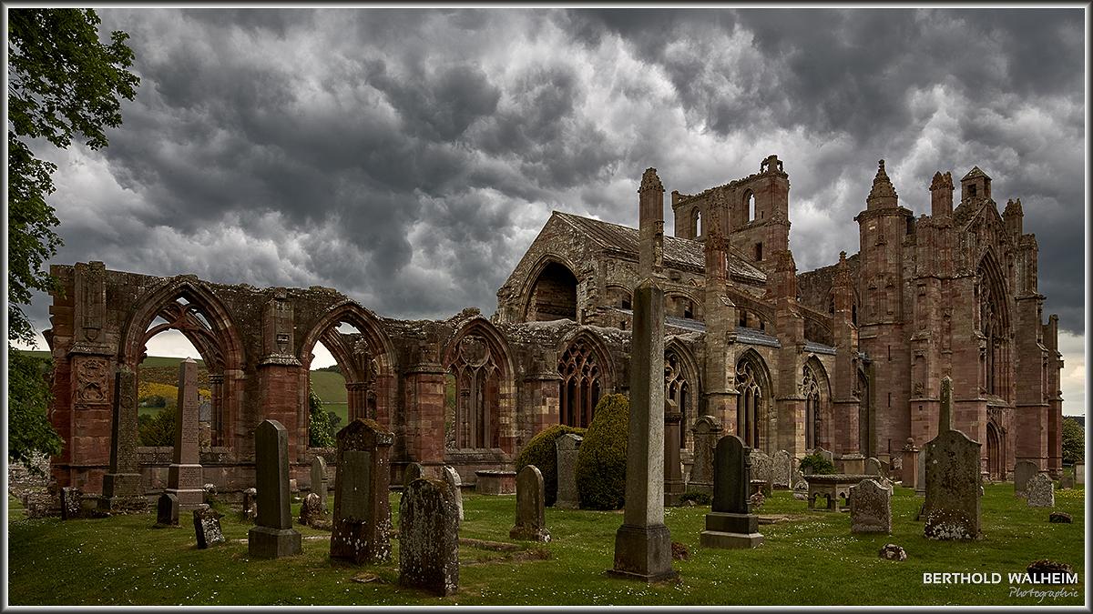 Melrose Abbey, Melrose