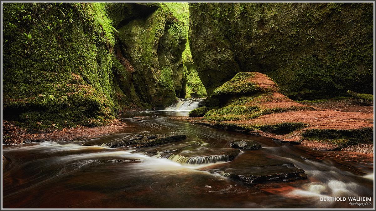 Devils Pulpit; Schottland
