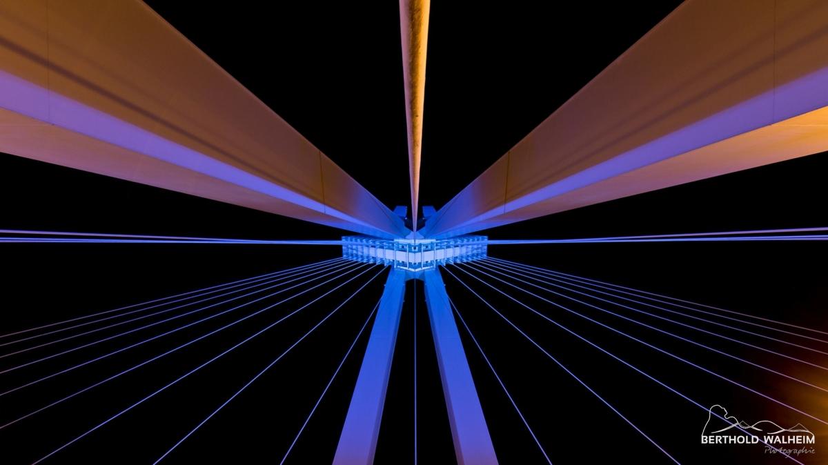 Pylonbrücke, Ludwigshafen