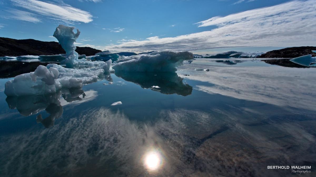 Eisfjord bei Ilulissat, Grönland